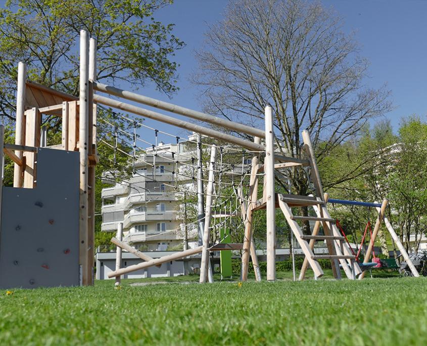 Spielplatz Stadtgärtnerei Hirtenhof Luzern