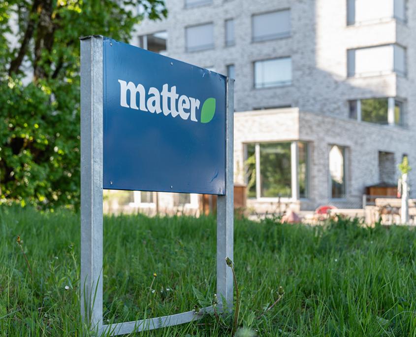Matter Garten Buchs Zürich