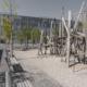 Spielplatz aus Eichenholz Oerliker Park gebaut durch Matter Garten Buch
