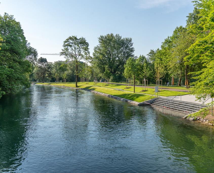 Flussbad Werdinsel