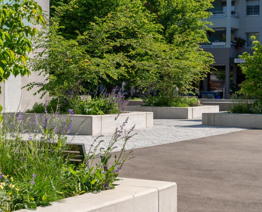 Ueberbauung Obstgarten Gattokon